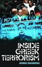 Inside Greek Terrorism, Kassimeris, George, Used; Good Book