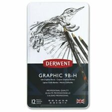Derwent 34215 Graphic Drawing Pencil - Pack of 12