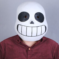 US Ship!Undertale legend Cosplay Sans mask Halloween headset game prop