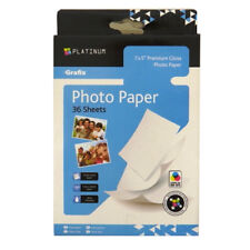 Premium Photo Paper, Grafix Platinum - 7 x 5 - 36 Sheets - 220gsm Gloss