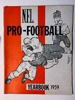 1959 NFL Pro-Football Yearbook GOOD/VERY GOOD