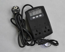 Thermostat for Reptile Snake Lizard Emitter Heat mat pad Lamp Incubator EU Plug