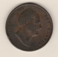More details for scarce 1831 william iv penny in fine condition.
