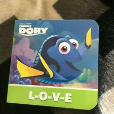 NEW. 7 BY 7CM. BOARDED BOOK. FINDING DORY, L-O-V-E. 978150374361