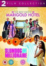 The Best Exotic Marigold Hotel / Slumdog Millionaire Double Pack [DVD] [2008]