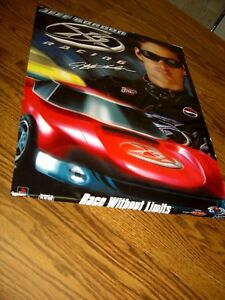 "1995 Jeff Gordon XS Racing Poster/Race Without Limits/16"" x 20"""