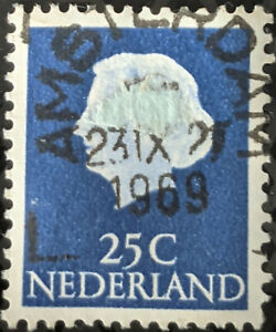 Stamp Netherlands SG779 1953 25c Queen Juliana Used