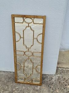 HAMPTON or french provincial style GOLD wall MIRROR   NEW