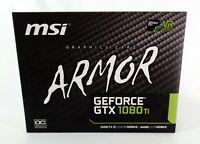 ORIGINAL BOX for MSI Armor Nvidia GTX 1080 Ti w/ Accessories
