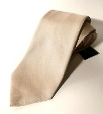 NWT Cesare Attolini Ivory 100% Silk 61/3,5 Tie