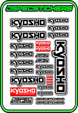 KYOSHO RC RACING STICKER SHEET A5 MINI Z BUGGY CAR NITRO ELECTRIC DRONE