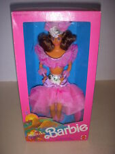 Vintage 1989 Dolls of the World, Brazilian Barbie Doll #9094, Second Series NRFB