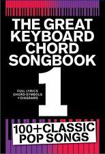 Great Keyboard Chord Songbook Play Pop OASIS Coldplay Keane Piano Music Book 1