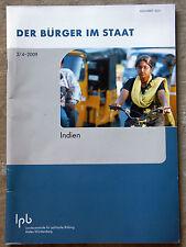 DER BÜRGER IM STAAT, 3/4-2009: INDIEN