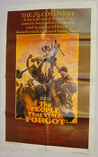THE PEOPLE THAT TIME FORGOT Original 1977 One Sheet Movie Poster 27x41 Folded
