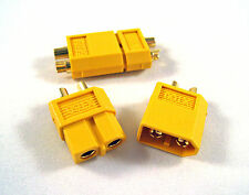 XT-60 Lipo Battery Connectors for DIY soldering adapter project Lipoly Plugs E4