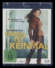 BLU-RAY EINMAL IST KEINMAL - KATHERINE HEIGL als sexy Detektivin *** NEU ***