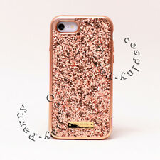 Kate Spade Wrap Snap Case  iPhone 7 iPhone 8 Rose Gold Exposed Glitter