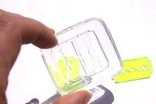 Clear Silicone Jewelry Casting DIY Jewelry Mold Razor Blades Size 30x16mm (Z-48)