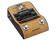 Zoom AC-2 Acoustic Guitar Effect Pedal New Free Shipping with Tracking