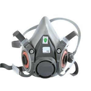 Free shipping 6200 Gas mask Respirator Painting Spraying Face Gas Main Mask
