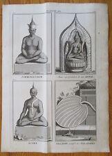 Picart Ceremony Thailand Statue Folio - 1732