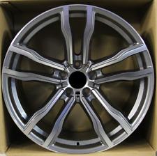 4x 21 inch alloys wheels for BMW X5/E53/E70/F15, X6/E71/F16  612 style Grey