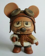"Custom 4"" Mini Qee Bear Designer Vinyl Figure Original Kidrobot Toy2r - Matucha"