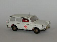 Märklin VW Variant 1600 L,Mmodellauto Krankenwagen Car,Ambulance,1/43