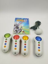 Scene It Box Office Smash (Microsoft Xbox 360, 2008) With Controllers