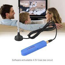 USB 2.0 SDR RTL-SDR DVB-T FM RTL2832U R820T2 Digital TV Tuner Receiver w/Antenna