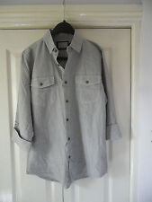 Roll Sleeve Striped Casual Shirts & Tops for Men
