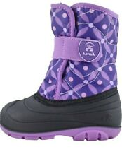 Kamik Kids' Snowbug4 Snow Boot Size 10 Purple Lilac
