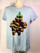 Rare Minecraft PLAINS T-Shirt (LARGE) Loot Crate Mine Chest June 2017