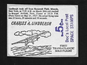 Charles Lindbergh First Transatlantic Flight - Doc's Local Post - Airplane