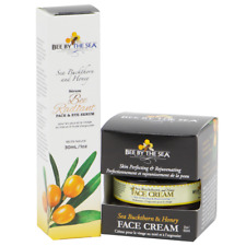 Bee By The Sea  Buckthorn and Honey Rejuvenating Face Cream and Eye Serum Set
