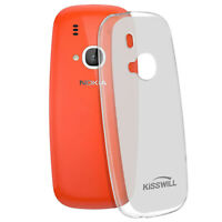 Silicone case, Glossy & matte back cover for Nokia 3310 2017 – Frosted white