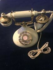 Vintage French Style Rotary Dial Phone Korea 1980s Pillow Talk Telephone Antique