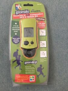 NEW SEALED Geomate Jr 2.0 Combination GPS And Update Kit GEO .344