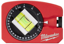 4 In Pocket Level Compact Magnetic Aluminum Heavy Duty Protractor Vial Milwaukee