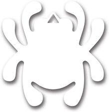 Spyderco White Bug Mirror Vinyl Decal Sticker Weather Resistant STK1 *NEW*