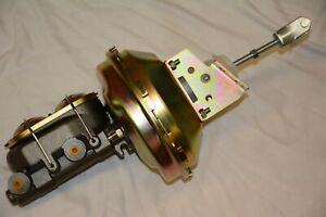 "9"" Big Block Power Brake Booster 1-1/8"" Master Cylinder chevelle camaro cutlass"