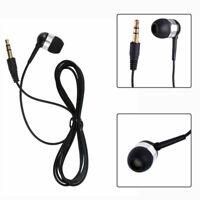 Fashion Single Side 3.5mm Headset In Ear Mono Wire Earbud Earphone Headphone