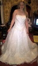 Mori Lee wedding dress designed by Madeline Gardener. UK size 24 never worn