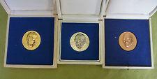 3 DDR Medaille - Johannes R. Becher - Gold - Silber - Bronze