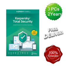 Kaspersky Total Security 2019 3 Users 2 Years Multi device inc Antivirus UK
