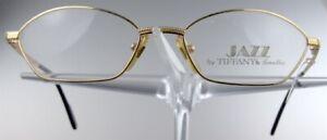 JAZZ by TIFFANY 08 Brille Brillengestell 23kt Gold Plated Eyeglasses NEU