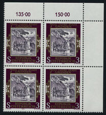 Austria 1082 TR Block MNH Ort Castle, Gmunden City