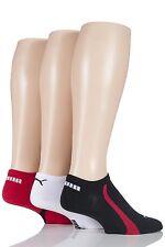 Mens & Ladies 3 Pair Puma Ring Sneaker Socks