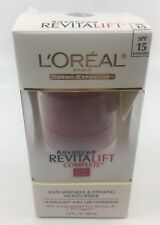 L'Oreal Advanced RevitaLift Complete Lotion SPF15 Moisturizer 1.6 Fl.Oz. Loreal